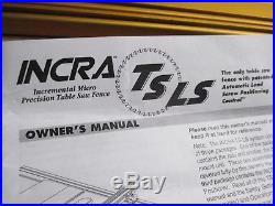 Incra TS LS Table Saw Fence Base Support Panel 28 1/2 x 6 1/2