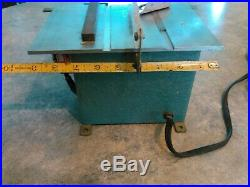 Jarmac Mini Table Saw. Hobby Professional Size. Fence. Micro Guide. Blade