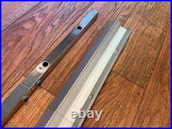 Jet Table Saw Jet Rip Fence with rails/hardware