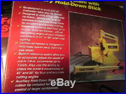 MIB Sears Fence Guide System with Auxillary Hold Down Stick