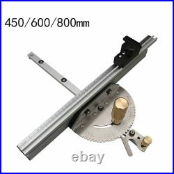Miter Gauge Aluminium Profile Fence With Track Stop Table Saw Router Miter Gauge