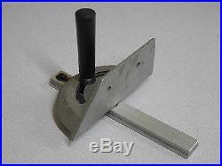 NOS sliding mitre fence gauge rail alloy bevel lathe router bandsaw table saw