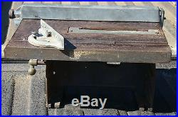 Old Craftsman 103 Series Table Saw with Mitre & Fence 103-0207 vintage