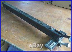 Older Craftsman 113. 10 Table Saw Parts Micro-Adjust Fence for 27-in. Table