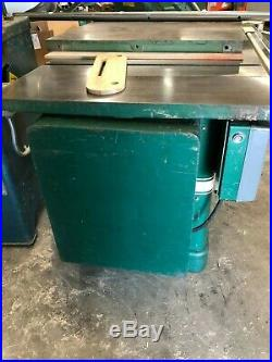 Powermatic 66 Table Saw with Biesemeyer Fence TAS Cabinet Saw