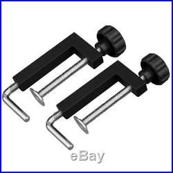 Powertec Universal Fence Clamps 2 Pack Woodworking Tool Band Table Saw Router