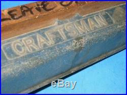 RARE 30'S Craftsman 8 Table Saw CAST SRS 50 FENCE md 2233 Walker Turner 02n4