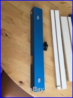 ROCKLER TABLE SAW CROSS CUT SLED! FENCE ONLY! + Wooden Attachements + T-track
