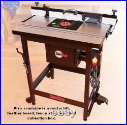 RT-F27 Fence Assembly for 27 inch Sawstop table saw in-line router tables