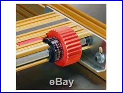 Range Positioner Fence System Woodworking Table Saw Removable T Slot Sub Base