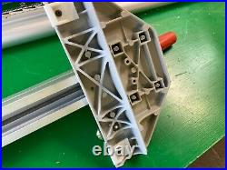 Ridgid Table Saw Aluminum Fence Align-A-Rip Style 24 right 12 left 24/12