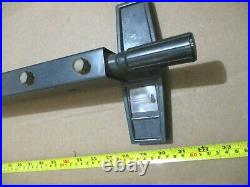 Rip Fence 62773 WithGuide Bars From Craftsman 10 Motorized Table Saw 113.298051