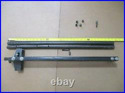 Rip Fence With Ft & RR Guide Bars Rails From Grizzly TSC-10 Table Saw