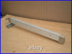 Rip Fence for 1950's Craftsman 8 Table Saw Gold color