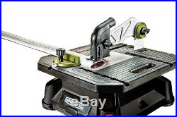 Rockwell Blade Runner X2 Portable Tabletop Saw Steel Rip Fence Miter Gauge New