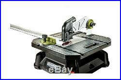 Rockwell Rk7323 Bladerunner X2 Portable Tabletop Table Saw Steel Rip Fence