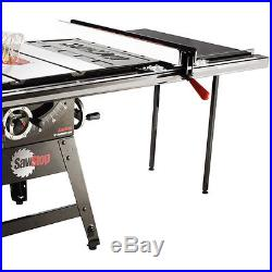 SawStop CNS175-TGP36 110-Volt 36-Inch Contractor T-Glide Table Saw Fence System