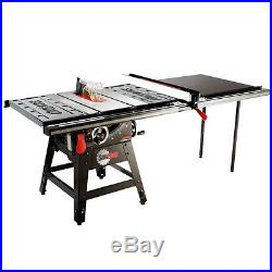 SawStop CNS175-TGP52 110-Volt 52-Inch Contractor T-Glide Table Saw Fence System