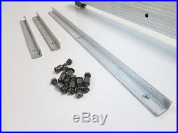 Sears Craftsman 8 & 9 Table Saw Rip Fence & Guide Rails, for 20 deep tables