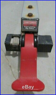 Sears Craftsman CAM-LOCKING RIP FENCE, 137. Table Saw assembly 137.248880