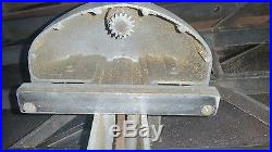 Sears Craftsman MODEL 113 10 Table Saw 27 FENCE
