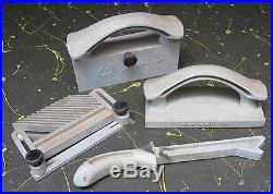 ShopSmith Mark V Push Block & Stick, Feather Board, Fence Stradler set of 4