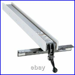 Shop Fox W2005 Heavy Duty Classic Support Fence System with Standard Rails