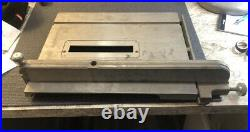 Shopsmith 10 ER table saw with insert And Fence With Rail