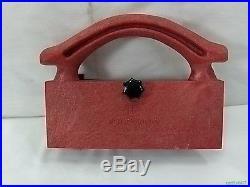 Shopsmith Fence Straddler Pusher Plastic Adjustable Red