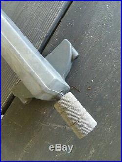 Shopsmith Mark V 500 Table Saw rip fence