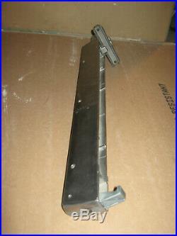 Shopsmith Mark V Model 500 Table Saw Fence nicely kept and polihed smooth sides