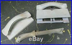 Shopsmith Mark V original 3-pc. Safety kit push block, stick, fence straddle
