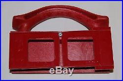 Shopsmith model 510 rip fence and fence straddler