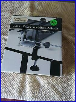 Stone Mountain Router Table Fence Micro-Adjuster 1186