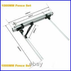 T-Track Regular Table Saw Fence System Tools Set Woodworking Circular Workshop