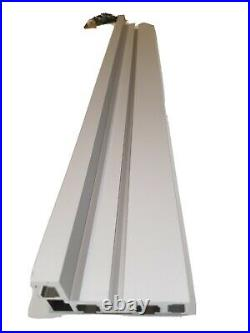 Table Router Saw Miter 600mm Aluminium Alloy Fence + Type 45 T Track brackets