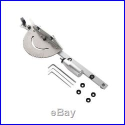 Table Saw BandSaw Router Angle Miter Gauge Mitre Fence Aluminum For Wood Working