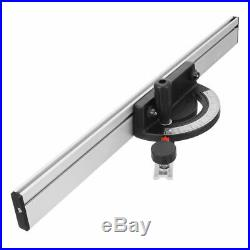 Table Saw BandSaw Router Angle Miter Gauge Mitre Guide Fence Cut Aluminum-Alloy
