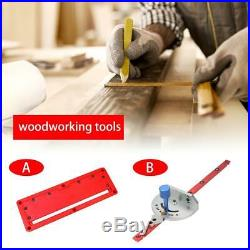 Table Saw BandSaw Router Angle Miter Gauge Mitre Guide Fence Cut Woodwork Tool