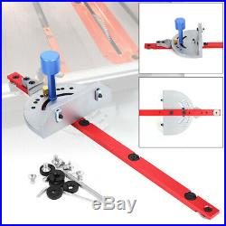 Table Saw Band Saw Router Angle Miter Gauge Mitre Guide Fence For Woodworking