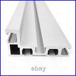 Table Saw Miter Track 600mm Accessory Aluminium Alloy Fence Stop 75 Type Cheap