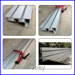 Table Saw Miter Track 600mm Accessory Aluminium Alloy Fence Stop Hot Sale