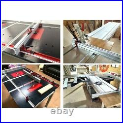 Table Saw Miter Track Woodworking Tool 600mm 75 Type Accessory Fence Stop