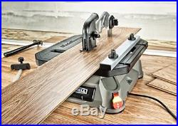 Table Saw Portable With Steel Rip Fence Miter Gauge Cut Wood Metal Tile Aluminum