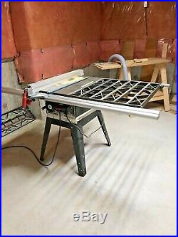 Table Saw (RIGID Fence)
