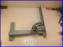 Table saw sliding adjustable fence