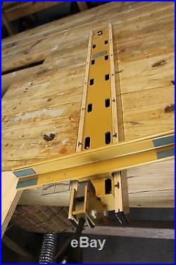 Used Powermatic Accu-Fence 36 Assembly for 64 10'' Artisan Table Saw w manual