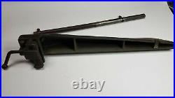 VINTAGE 1940's CRAFTSMAN 103.0213 TABLE SAW FENCE AND RAIL ASSEMBLY