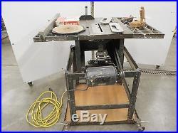Vintage Craftsman Table Saw Cam Lock Micro Adjust Fence