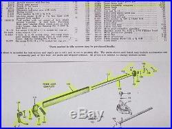 Vintage CRAFTSMAN Table Saw Rip Fence Assy. 103.22160 Restoration Quality
